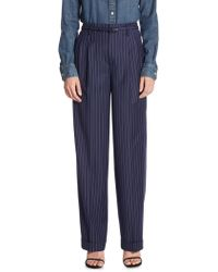 Polo Ralph Lauren | Straight Wool Trousers | Lyst