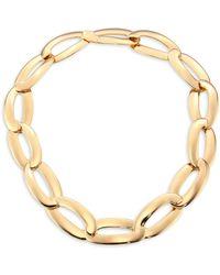 Vhernier | Olimpia 18k Rose Gold Link Necklace | Lyst