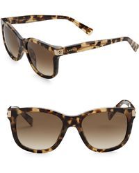 Lanvin - 52mm Round Sunglasses - Lyst