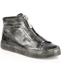 Frye - Lena Zip High-top Sneakers - Lyst