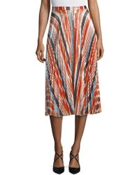 DELFI Collective - Clara Pleated Skirt - Lyst