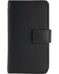Gigi New York - Pebbled Leather Iphone 6 Case Wallet - Lyst