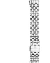 Michele Watches - Deco 18 Stainless Steel Seven-link Watch Bracelet - Lyst