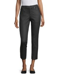 Eileen Fisher - Coated Stretch Ankle Jeans - Lyst