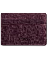 Shinola - Latigo Leather Card Case - Lyst