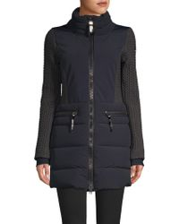 Post Card - Siguan Quilted Parka - Lyst