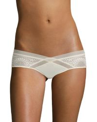 CALVIN KLEIN 205W39NYC - Endless Geometric Lace Hipster - Lyst