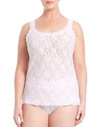 Hanky Panky - Plus Size Signature Lace Camisole - Lyst