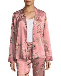 Joie - Lillit Floral Pyjama Top - Lyst
