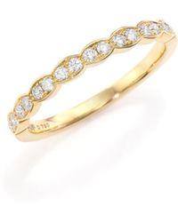 Hearts On Fire - Lorelei Diamond & 18k Yellow Gold Ring - Lyst