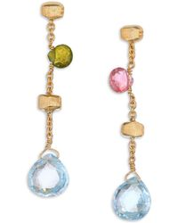 Marco Bicego - 18k Yellow Gold Paradise Drop Earrings - Lyst
