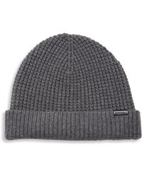 Burberry - Stretchy Wool-blend Cap - Lyst
