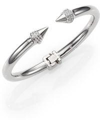 Vita Fede - Mini Titan Crystal Bracelet/silvertone - Lyst