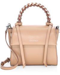 Elena Ghisellini - Angel Leather Top Handle Bag - Lyst