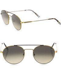 Etnia Barcelona - Vintage Born Sun 50mm Round Sunglasses - Lyst