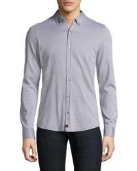 Strellson - Spence-j Cotton Casual Button-down Shirt - Lyst
