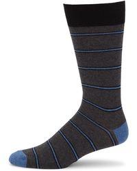 Saks Fifth Avenue - Collection Collegiate Striped Crew Socks - Lyst