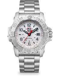 Luminox - Navy Seal Steel Diver Stainless Steel Bracelet Watch - Lyst