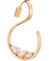 Repossi - Studio 18k Rose Gold & Diamond Single Earring - Rose Gold - Lyst