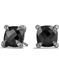 David Yurman - Châtelaine Earrings With Amethyst And Diamonds - Lyst