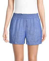 Joie - Fenna Linen Shorts - Lyst