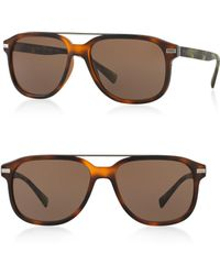 Burberry - 58mm Square Sunglasses - Lyst