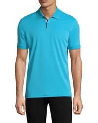 AG Green Label - Berrian Short-sleeve Polo - Lyst