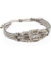 Chan Luu - Pyrite Multi-layer Bracelet - Lyst