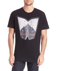36 Pixcell - Nyc Windows Graphic Tee - Lyst