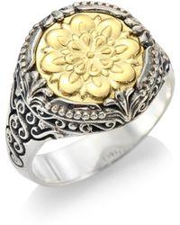 Konstantino - Gaia 18k Yellow Gold Ring - Lyst
