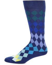 Paul Smith - Diamond Knitted Socks - Lyst