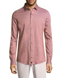 Strellson - Santos Cotton Button-down Shirt - Lyst