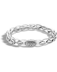 John Hardy   Classic Silver Bracelet   Lyst