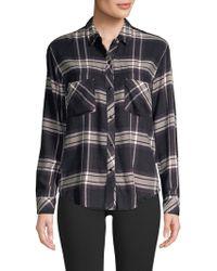 Rails - Leo Rayon Plaid Shirt - Lyst