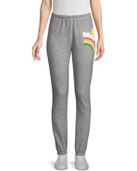Wildfox - Rain Or Shine Graphic Joggers - Lyst
