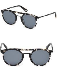 Web - 49mm Acetate 2-base Hava Sunglasses - Lyst