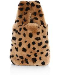 Pologeorgis - Leopard Print Fur Bag - Lyst