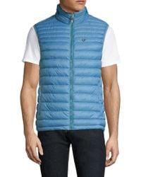 Strellson - Slim-fit Quilted Down Vest - Lyst