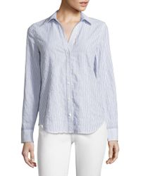 Vineyard Vines - Striped Linen & Cotton Shirt - Lyst