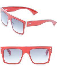 Moschino - Pz 54mm Square Sunglasses - Lyst