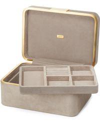 Aerin Beauvais Suede Jewellery Box