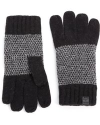 Bickley + Mitchell | Mixed-pattern Lambswool Gloves | Lyst