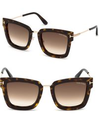 Tom Ford - Lara Square Sunglasses - Lyst