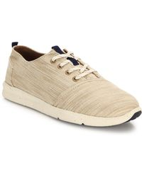 TOMS - Del Rey Lace-up Trainers - Lyst