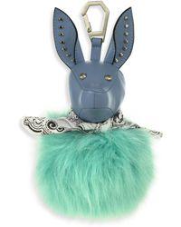 Kendall + Kylie - Bambi Faux Fur Dog Bag Charm - Lyst