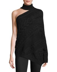 Laura Siegel - One-shoulder Choker Jumper - Lyst