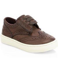 Ralph Lauren - Baby's & Kid's Alek Perforated Oxford Sneakers - Lyst