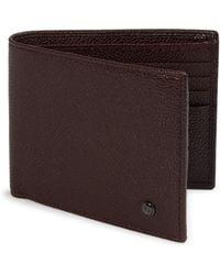 Giorgio Armani - Leather Bi-fold Wallet - Lyst