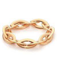 Vhernier - Doppio Senso 18k Rose Gold Marquis Chain Bracelet - Lyst