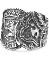 David Yurman - Shipwreck Coin Ring - Lyst